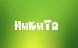 Значение имени никита, его происхождение, характер и судьба человека, формы обращения, совместимость и прочее