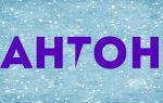 Значение имени антон, его происхождение, характер и судьба человека, формы обращения, совместимость и прочее