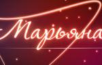 Значение имени марианна (марьяна), его происхождение, характер и судьба человека, формы обращения, совместимость и прочее